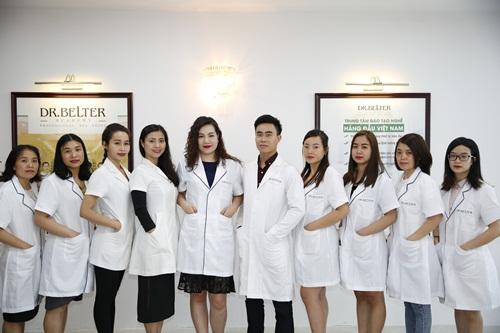 Đội ngũ giảng viên của Học viện đào tạo Dr.Belter