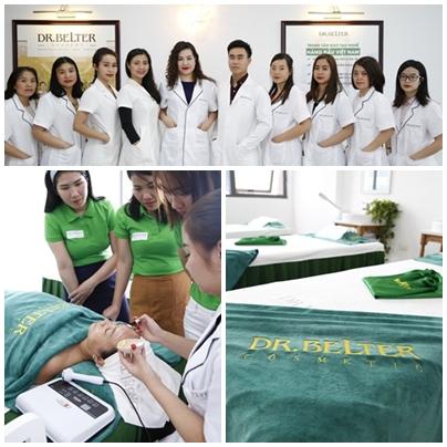 Đội ngũ giảng viên tại Học viện spa Dr Bleter