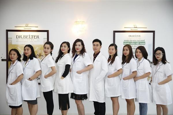 Đội ngũ giảng viên kinh nghiệm tại học viện chăm sóc da