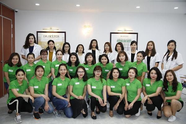 Học viện Dr Belter - Viện đào tạo chăm sóc da uy tín, chất lượng
