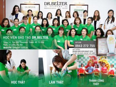 Học viện Dr Belter - Lớp học chăm sóc da mặt uy tín tại Hà Nội