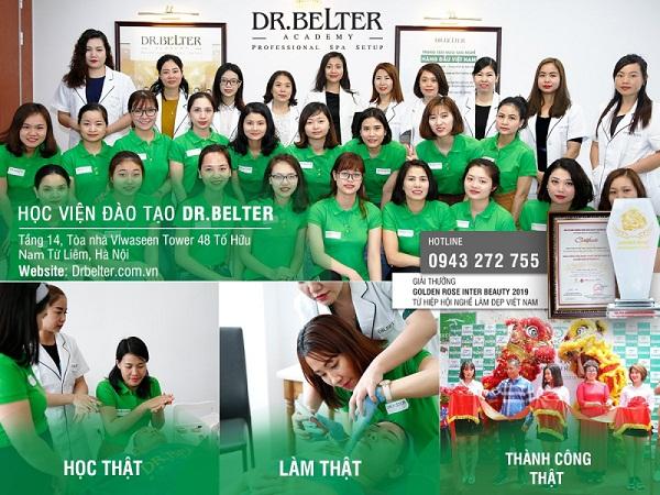 Học viện Dr Belter – Trung Tâm học nghề thẩm mỹ uy tín tại Hà Nội