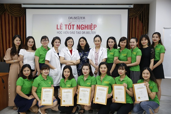 Học viện Dr Belter – Cơ sở học spa ở Hà Nội chuyên nghiệp