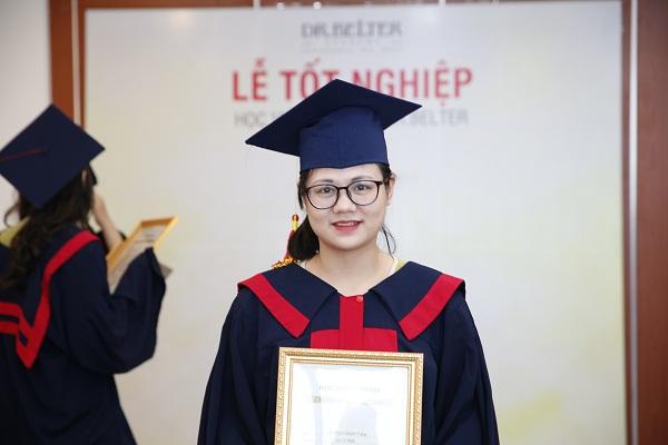 Học viên được cấp bằng chứng chỉ tại học viện DrBleter